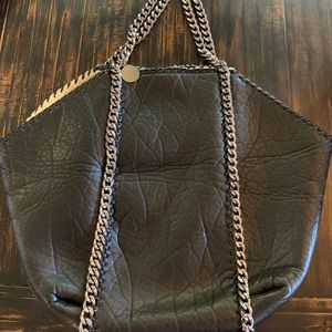 "Stella McCartney ""shearling"" large bag"